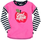Hatley Nordic Apple Graphic Tee (Toddler, Little Girls, & Big Girls)