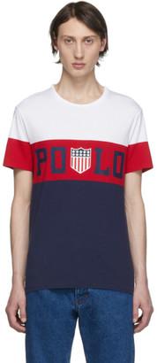 Polo Ralph Lauren White Custom Slim-Fit T-Shirt