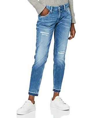 Herrlicher Women's Cropped Cashmere Touch Slim Jeans,8 (Size: )