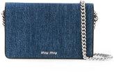 Miu Miu flap shoulder bag