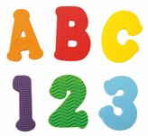 Sassy Count 'n Spell Appliques - Rainbow
