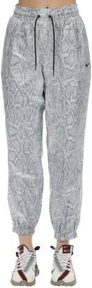 Nike NSW PYTHON PRINT NYLON TRACK PANTS