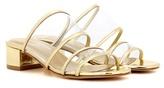Maryam Nassir Zadeh Martina Slide metallic slip-on sandals