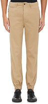 Nlst Men's Cotton Chino Jogger Pants-Tan Size 32
