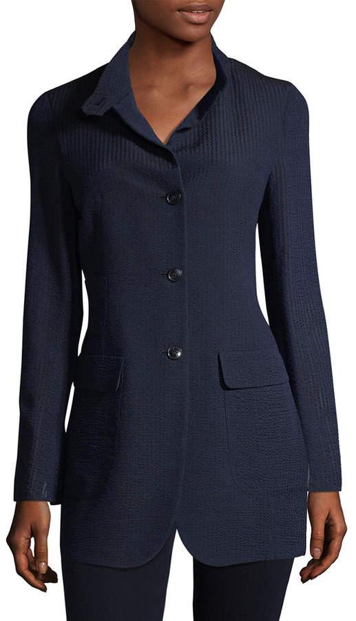Charlston Ribbed Silk Jacket