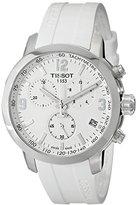 Tissot Men's T0554171701700 Analog Display Quartz White Watch