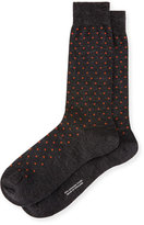 Pantherella Polka-Dot Dress Socks