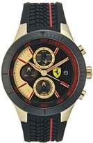 Ferrari Chronograph Watch Goldfarben/schwarz