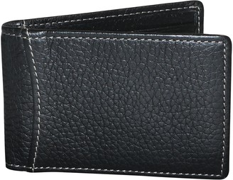 Dopp Men's Hudson RFID-Blocking Front-Pocket Clip Flip Wallet