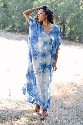 Maternity Rayon Tie-Dye Rae Dress