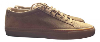 Common Projects Brown Suede Trainers
