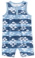 First Impressions Fish-Print Cotton Romper, Baby Boys (0-24 months)