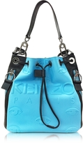 Kenzo Kombo Color Block Neoprene Bucket Bag