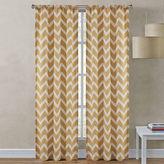 Asstd National Brand Richloom Rhodes 2-Pack Chevron Rod-Pocket Curtain Panels