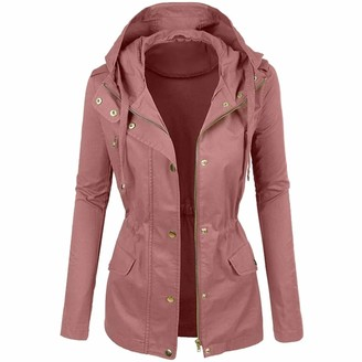 IFOUNDYOU Solid Color Motorcycle Leather Jacket Women's Winter Fashionable Short Lapel Blouses New Womens Ladies Winter Fashionable Plain Color Short Lapel Motorcycle Leather Blouses Tops Clothes