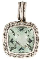 David Yurman Prasiolite & Diamond Albion Pendant