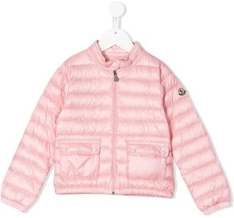 Moncler Enfant Zip-Up Padded Jacket