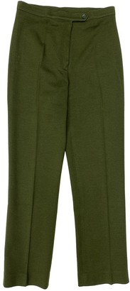 Rodier Green Wool Trousers for Women Vintage