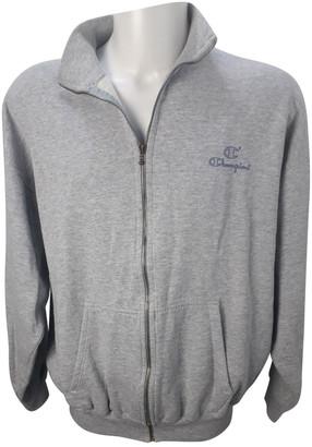 Champion Grey Cotton Knitwear & Sweatshirts