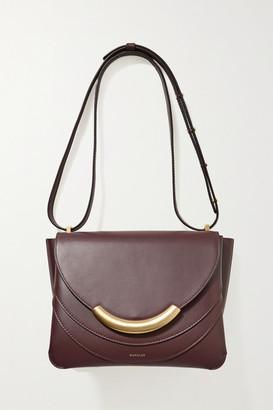 Wandler Luna Arch Leather Shoulder Bag - Burgundy