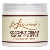 LaLicious Coconut Cream Sugar Souffle Moisturizing Body Scrub