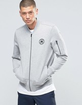 Converse Ma-1 Bomber In Grey 10001109-a03
