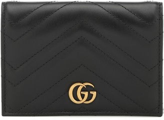 Gucci GG Marmont leather passport case