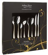 Arthur Price Windsor Stainless Steel 44 Piece Cutlery Set