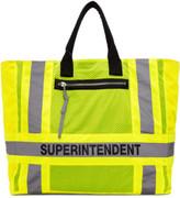 Heron Preston Yellow Dsny Edition Superintendent Tote