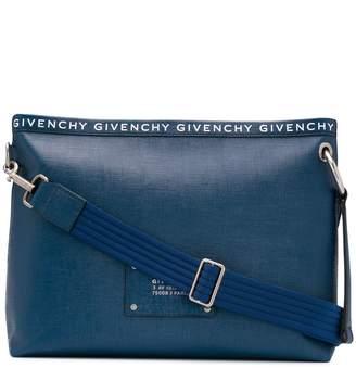 Givenchy logo patch clutch