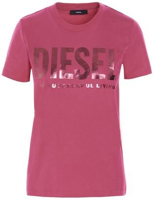 Diesel T-Sily-Wx Crewneck T-Shirt