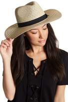 David & Young Grosgrain Band Panama Hat