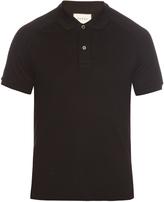 Gucci Hummingbird-appliqué cotton polo shirt