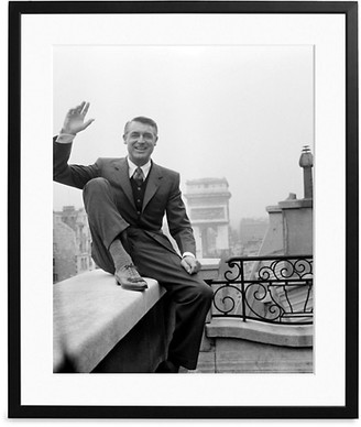 Sonic Editions Large Cary Grant In Paris Art Print