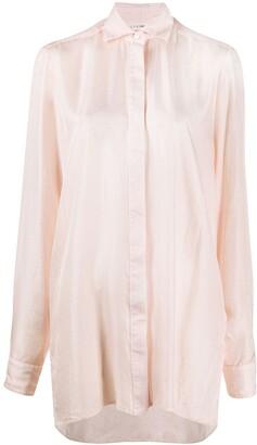 Alyx oversized long sleeve shirt