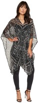BCBGeneration Charming Paisley Poncho Women's Clothing