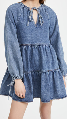 En Saison Denim Babydoll Dress