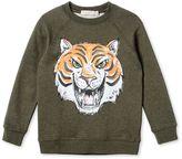 Stella McCartney khaki billy tiger sweatshirt