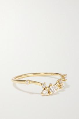 WWAKE 14-karat Gold Diamond Ring - 5