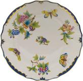 Herend Queen Victoria Blue Dinner Plate