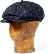 Ralph Lauren RRL Linen-Wool Newsboy Hat