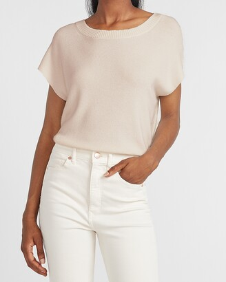 Express Short Dolman Sleeve Sweater