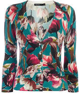 Karen Millen Floral Knitted Cardigan