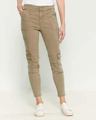 Blue Revival Teddy Skinny Ankle Cargo Pants