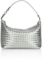 Bottega Veneta Medium Woven Leather Hobo Bag