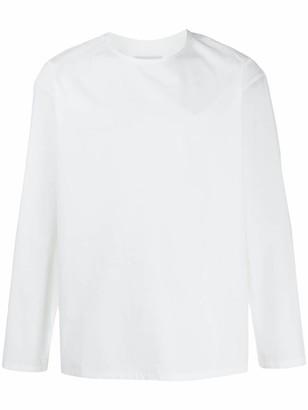 Lemaire Collarless Long Sleeve Shirt
