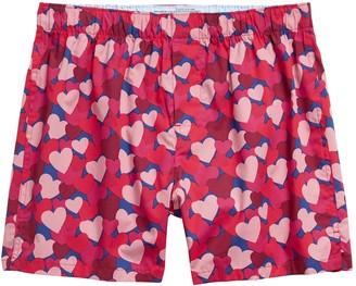 Banana Republic Camo Hearts Boxer