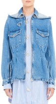J.W.Anderson Women's Tailored Denim Car Jacket