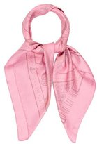 Hermes La Danse Du Cheval Marwari Silk Dip-Dye Scarf