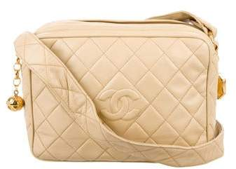 Chanel Diamond Quilt Camera Bag